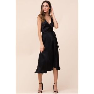 Yumi Kim Silk Midi Dress